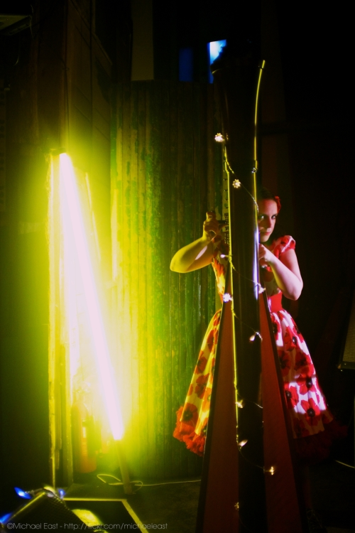 Kat Arney - Harp