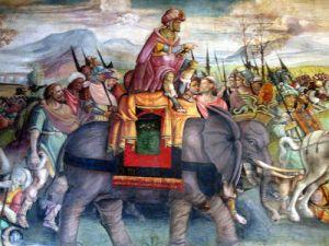 Hannibal on an elephant