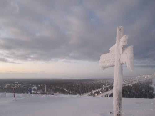 Lapland signpost