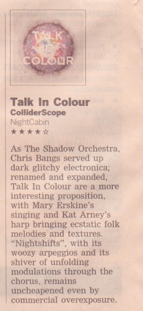 Talk In Colour FT Review